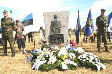 20 августа 2004 года.В Эстонии открыт памятник эсэсовцам