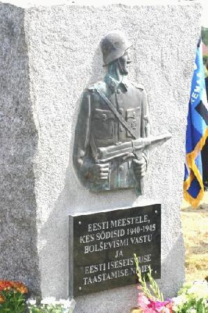 Открытый  в местечке Лихула обелиск в память об эстонцах, воевавших во Второй мировой войне на немецкой стороне, стал популярным туристическим объектом в Западной Эстонии.