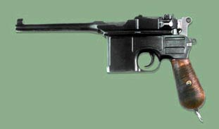 Легендарное оружие.В 1896 Маузер сконструировал автоматический пистолет (маузер)