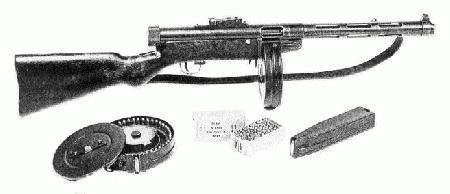 Легендарное оружие.Пистолет - пулемет  Suomi